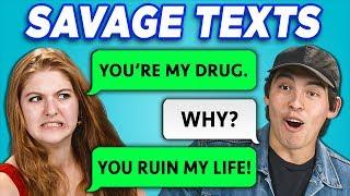 Teens Read 10 Savage Texts (React)
