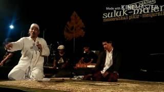 Suluk Maleman| Zaman Pekok Now  part ll BUDI MARYONO | 21 april 2018