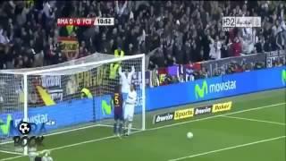 كل أهداف كريستيانو رونالدو في برشلونة تعليق عربي