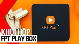 FPT Shop - Khui hộp FPT Play Box: truyền hình Internet mới lạ, tiện dụng