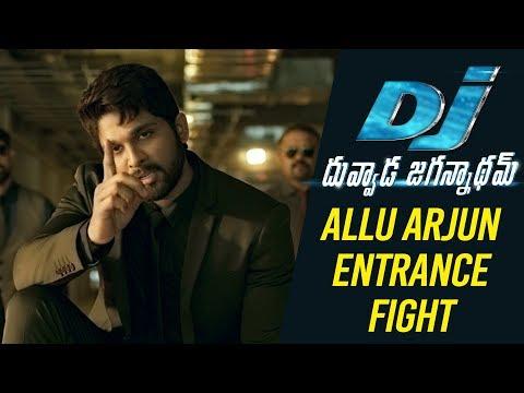 Xxx Mp4 DJ Duvvada Jagannadham Scenes Allu Arjun Entrance Fight Scene DJ On FIRE 3gp Sex