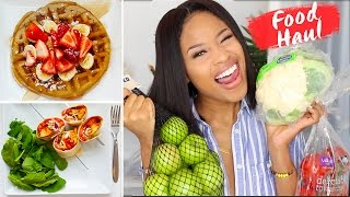 How To Eat GOOD for Only $30 A WEEK! ➟ vegan grocery haul + meal ideas