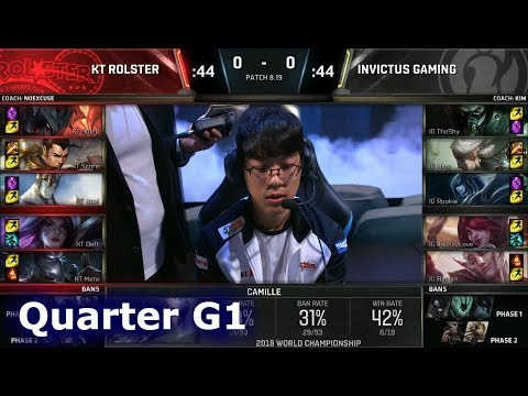 Xxx Mp4 KT Vs IG Game 1 Quarter Final S8 LoL Worlds 2018 KT Rolster Vs Invictus Gaming G1 3gp Sex