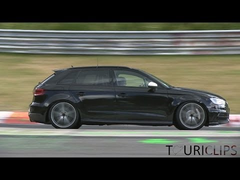 Audi spied testing the all new RS3 2.5 TFSI on the Nürburgring