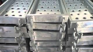 Galvanized Scaffolding Hook Plank Steel Plank with Hook   Friend Scaffolding