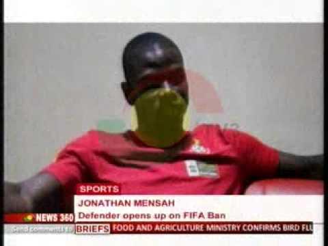 News360 - Jonathan Mensah interview with TV3 - 11/6/2015