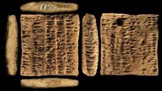 Musa'nın Tabletleri Değil Ebla Tabletleri