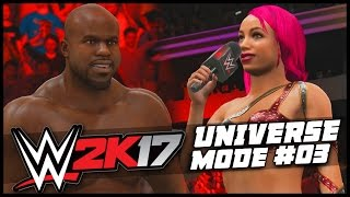 WWE 2K17 | Universe Mode - 'NEW RAW WOMEN'S CHAMPION!' | #03