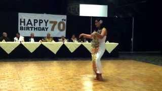 Mealamu da dancing for Aunty Siatu Taatiti's 70th birthday