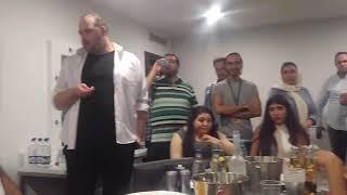 اجرای زنده ابی مقدمی در کنار آقای صدا باکو