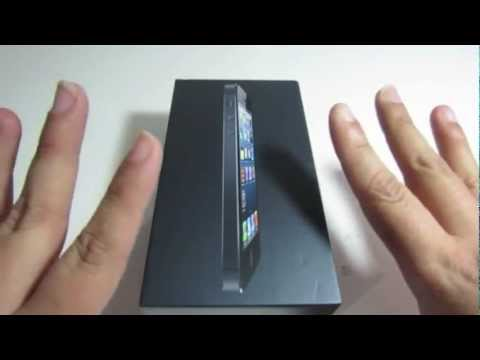 Unboxing iPhone 5 Negro 32gb en Espanol
