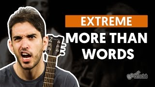 More Than Words - Extreme (aula de violão completa)