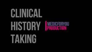 How to- Clinical History Taking Format- Medical