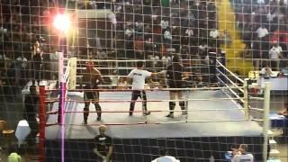Anderson Gonçalves vs Danilo Espera - Campeonato Paulista Muay Thai FEPLAM 2013