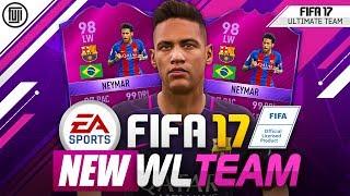 FIFA 17 - NEW WEEKEND LEAGUE TEAM! FT. TOTS NEYMAR!!! - FIFA 17 Ultimate Team
