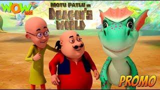 Motu Patlu in Dragon's world | Movie promo | WowKidz