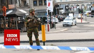 Brussel Station Incident - BBC News