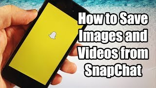 How to Save Pictures and Videos from SnapChat for FREE