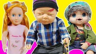 Dede Oyuncak Bebek Kızlar Uyusun Diye KORKUNÇ Masallar Anlatıyor Uyku İmkansız