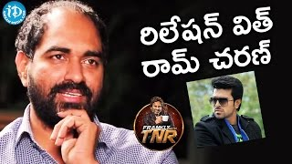 Krish About His Releation With Ram Charan || Frankly With TNR || Talking Movies With iDream