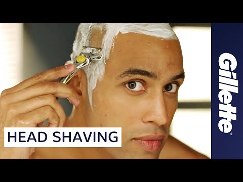 Head Shaving Tips for Men | Gillette Fusion ProShield