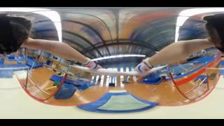 Flying Through The Eyes of a Gymnast with #360° Video