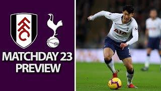 Fulham v. Tottenham | PREMIER LEAGUE MATCH PREVIEW | 1/20/19 | NBC Sports