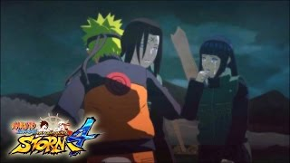 Naruto Shippuden Ultimate Ninja Storm 4 - Neji Death (ENGLISH DUB) Story Mode