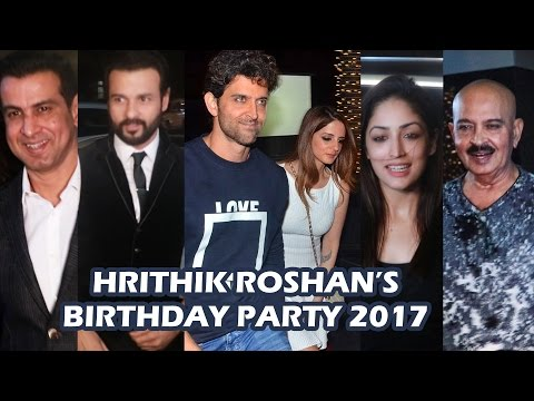 Xxx Mp4 Hrithik Roshan S GRAND BIRTHDAY Party 2017 Full Video HD Yami Gautam Sussanne Khan Ronit Roy 3gp Sex