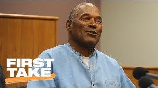 First Take Reacts To O.J. Simpson Parole | First Take | ESPN