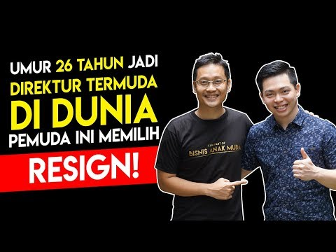 Dipercaya Jadi Direktur Di Perusahaan Besar, Pria Ini Malah Memilih Resign & Kini Sukses Berbisnis !