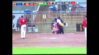 India vs canada 15 th mens softball world championship 2017 simrat is on batting