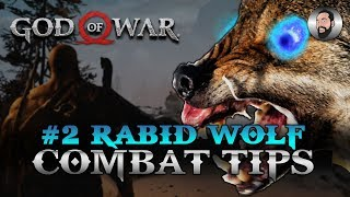 GOD OF WAR COMBAT TIPS | #2 RABID WOLVES | GOD DIFFICULTY