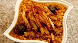 Khoresht Gheymeh or gheimeh (split yellow peas) stew recipe