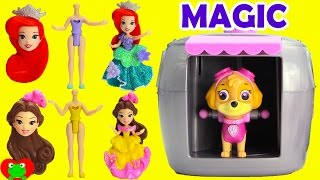 Paw Patrol Skye Magical Pup House with Disney Princess and Friends Surprises