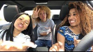 DRIVING W BRI CHIEF! FT: @ Alyssatomlin & @Berlinprince__ !!