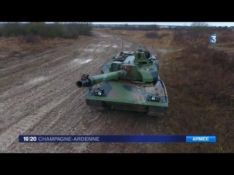 Le char Leclerc 25 ans de service au camp militaire de Mourmelon le Grand 51
