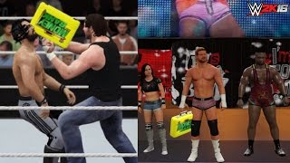 WWE 2K: Top 5 WWE Money in the Bank Cash Ins!