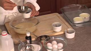 شیرینی پزی-  کرم کارامل همراه با شف فرانسوا