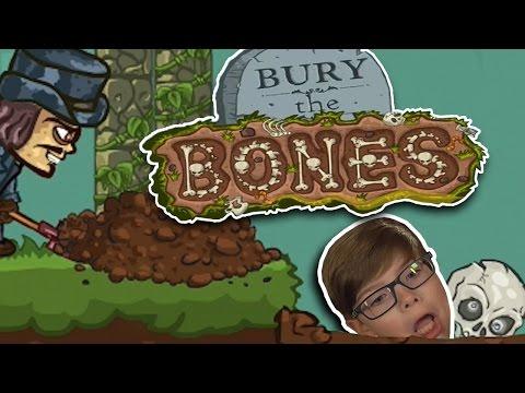 BURY THE BONES Free Online Games for Kids Halloween 2016