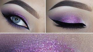 Makeup Tutorial Glitter Eyes ♥‿♥ Makeup Tutorial Compilation
