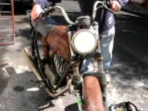 MOTOCICLETA CARABELA 125 VINTAGE