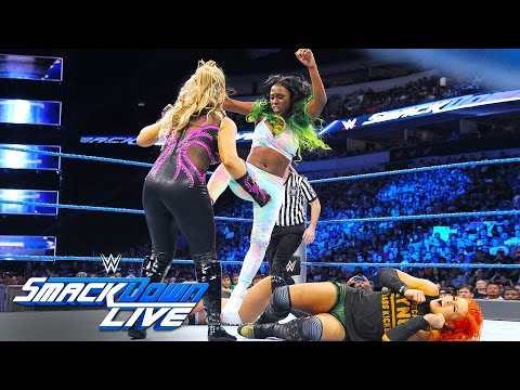 Xxx Mp4 Becky Lynch Naomi Vs Natalya Alexa Bliss SmackDown Live Aug 30 2016 3gp Sex