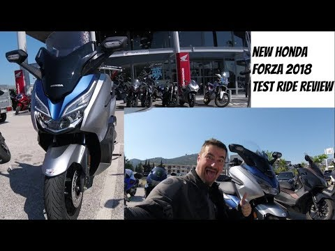 New Honda Forza 2018 2019 125cc test ride and review