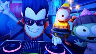 Funny Animated Cartoon | Spookiz Weekend Party Time 스푸키즈 | Cartoon for Children