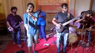 Kuldeep live performance at Haiko Supermarket, Powai. Song# Oh Humdum Soniore. Band# LAST MINUTE