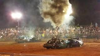 Cummins demo derby team heat