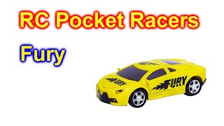RC Pocket Racers Car Fury As Seen On TV Open and Drive