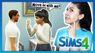 I ASKED MY CRUSH TO MOVE IN WITH ME! - The Sims 4 - My Life - Ep 10