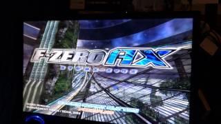 F-Zero AX: Sega Triforce Arcade Game Play